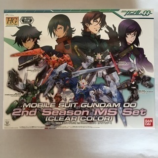 【新品未開封】1/144 HG 2nd Season MSセット...