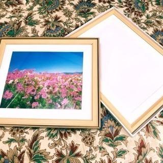 【美品】Fujicolor 木製額5点セット