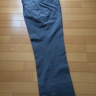 【美品】夏用制服ズボン グレーの標準服(クリーニング済)