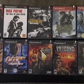 PS1 PS2 のアメリカ地域ビデオゲーム