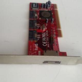 PCIスロット用 eSATA/SATA 拡張ボード