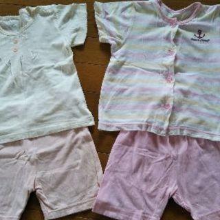 パジャマ 90cm 半袖