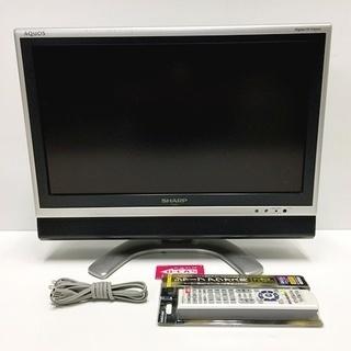 シャープ SHARP 20v型液晶テレビ LC-20EX1-S