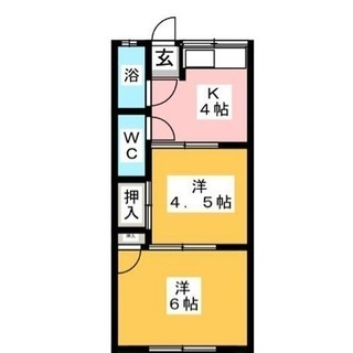 名古屋市港区 DIY前提スケルトンアパート2K