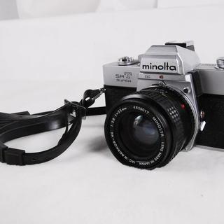 MINOLTA SRT SUPER ミノルタ カメラ レンズ M...