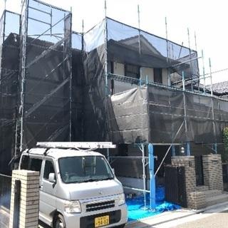 足場に外壁塗装に屋根塗装コミコミ50万!!