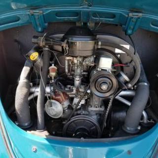 旧車 ビンテージ 札幌 札5 シングルナンバー フルナン 空冷VW ビートル カブトムシ − 北海道