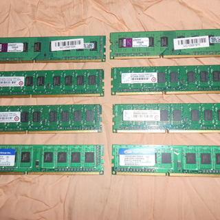 デスクトップパソコン用 DDR3 2G 8枚