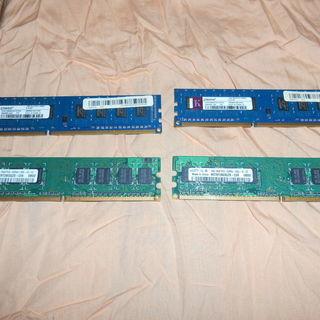デスクトップパソコン用 DDR3 1G 6枚