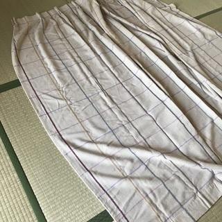 長いカーテン2種類、ドライクリーンング済み