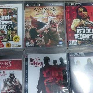 PS3本体 + ソフト6本+2本