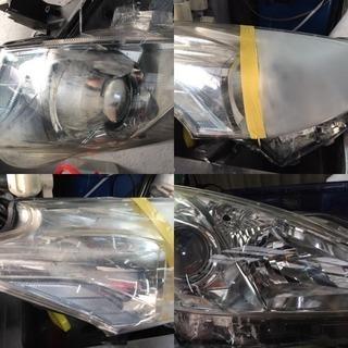 今話題のヘッドライトスチーマー 施工 ヘッドライト再生 磨き 広島 西区 黄ばみ取り − 広島県