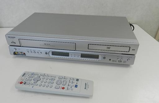 シャープ VTR一体型DVDビデオプ...