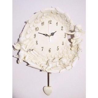 エンジェル壁掛け時計(未使用 新品)