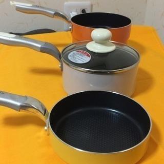 [お話中]小さな鍋セット