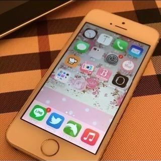 iPhone5s 32GB ゴールド
