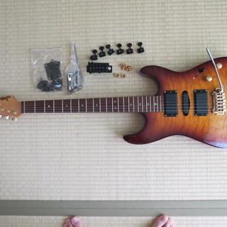 エレキギター(Moon製-PGM DST-285B(HSH)BS/J)