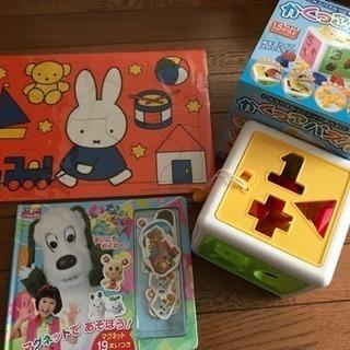 (売切れ)まとめ売り☆一歳半前後向け☆パズル、いないいないばぁ!...