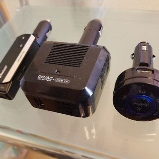 【売約済み】Bluetooth変換、家庭用コンセント変換、色々セット