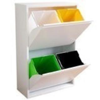 定価2.7万 ASPLUND イタリア製 リサイクルダストボックス