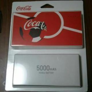 【新品】コカ・コーラ モバイルバッ...