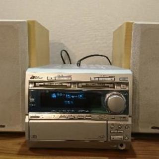 コンポ CD MD ラジオ AUX(外部入力) ビクター