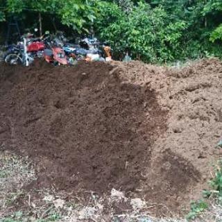 残土 土 あげます 盛土や穴埋め等に
