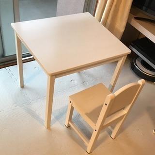 IKEA 子供用 机 椅子 テーブル チェア KRITTER/SU...