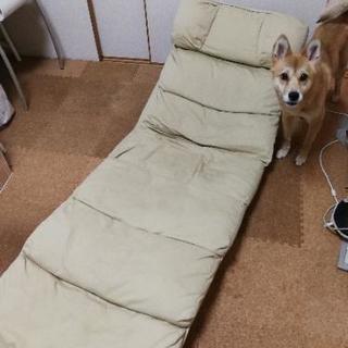 ロングなリクライニング座椅子