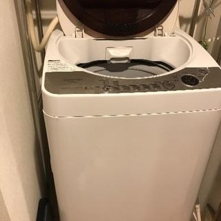 SHARP 洗濯機差し上げます☆
