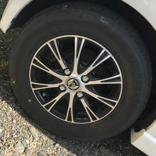 夏タイヤ   RizLEY xs 13インチ ホイール付きタイヤ