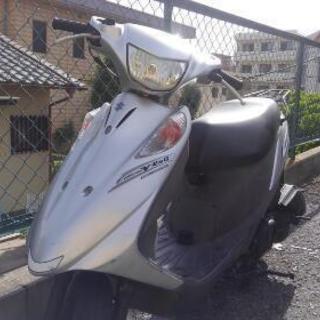 バイク スズキ(アドレスV125G)