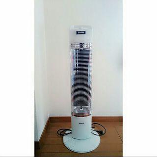 遠赤外線電気暖房機・コアヒートスリム(DH-913R-W)