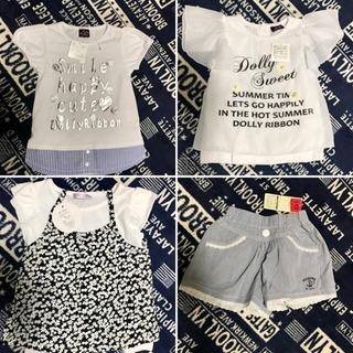 【値下げ】新品未使用 サイズ110 女の子子供服