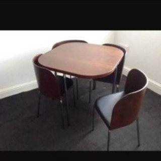 IKEA fusion ダイニングテーブル5点セッ