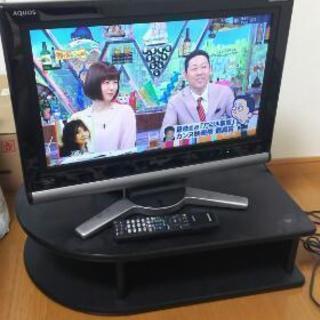 シャープ液晶テレビリモコン付き