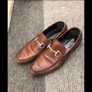 LANVIN COLLECTION  無地 ローファー・革靴