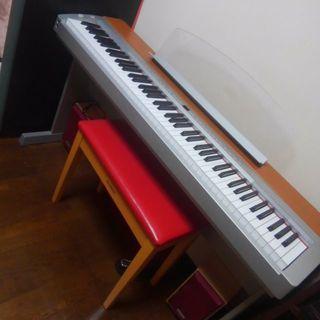 発送可(条件付き)ヤマハ電子ピアノP-155  美品