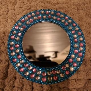 ★美品★ 手鏡 ハンドミラー