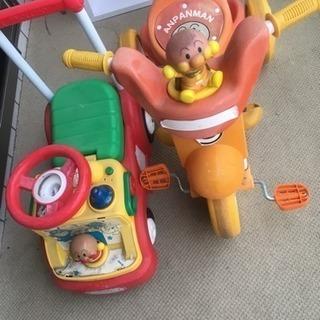 無料 アンパンマン ミニバイク セット 単品可