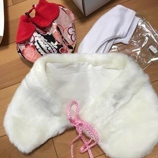 値下げしました 七五三 3歳女の子 着物以外の備品 − 福岡県