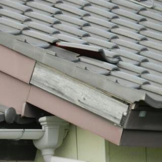 屋根瓦、雨樋の修理出来る方