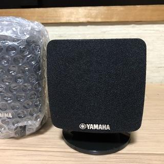 [ほぼ未使用]YAMAHAの小型スピーカー4個セット