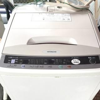 取り引き中。HITACHI洗濯機