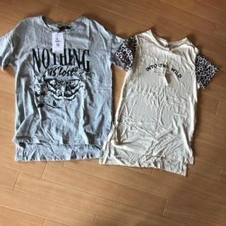 SサイズBershkaとStradivariusTシャツ