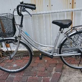 自転車、ママチャリ