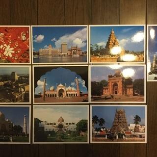 インドのポストカード10枚セット