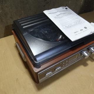東280 USB/SDスロット レコードプレイヤー TT-16WE