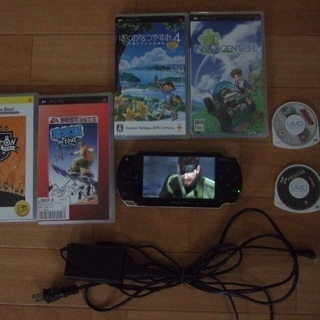 PSP1000 ソフトセット中古品