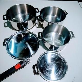 ステンレス鍋 キャンプ鍋